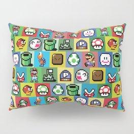 Mario and Luigi Pattern Pillow Sham