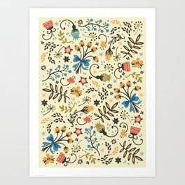 Floral Bloom Art Print