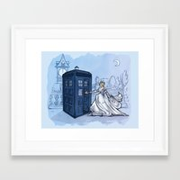 hallion Framed Art Prints featuring Come Away with Me by Karen Hallion Illustrations