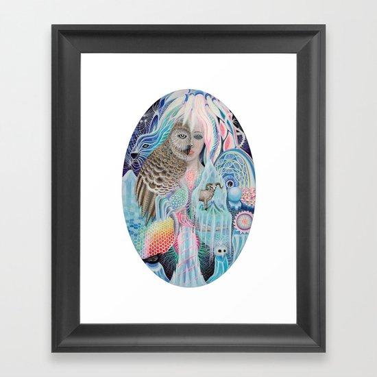 blind spot Framed Art Print