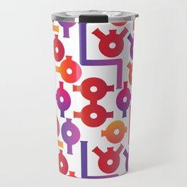 Chemistry Glass simple pattern #2 Travel Mug
