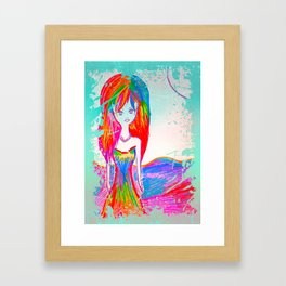 """Ambivert"" I Am Both: Introvert and Extrovert. I like people, but I need to be alone. Framed Art Print"