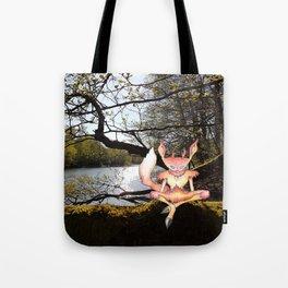 Lakeside Meditation Tote Bag