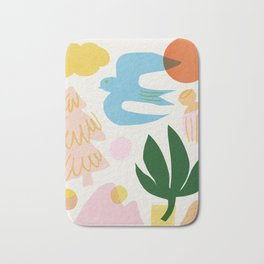 Abstraction_Nature_Beautiful_Day Bath Mat