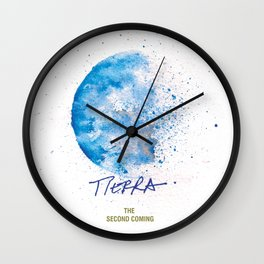 Tierra Second Coming Wall Clock