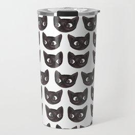 Black Cats // Lots of Black Cats Travel Mug