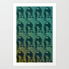 Star Wars Pop Art: Cool R2D2 Art Print