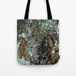 Weathered Iron rustic decor Tote Bag
