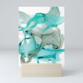 Aqua Life Mini Art Print