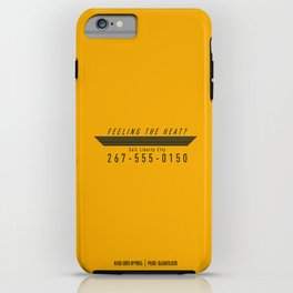 PAUSE – Feeling the heat? iPhone Case