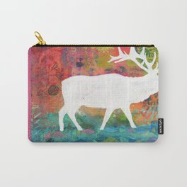 How Wild It Was Elk Collage Carry-All Pouch