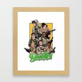 Bustin' Framed Art Print