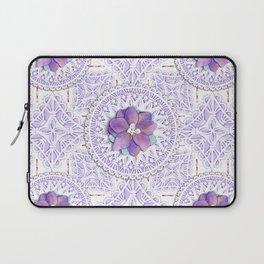 Delphinium Lace Laptop Sleeve