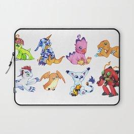 Digimon Group Laptop Sleeve