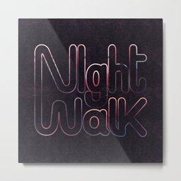 Night Walk Metal Print