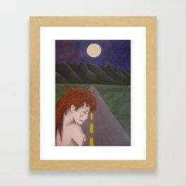 zombie Framed Art Print