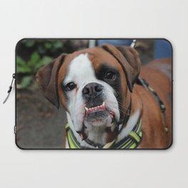 Boxer dog friend Laptop Sleeve