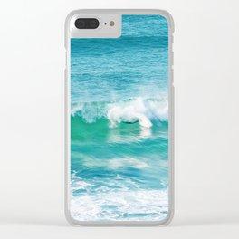 Wipeout. Bronte Beach. Sydney. Australia. Clear iPhone Case