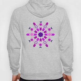 Purple Arabesque Hoody