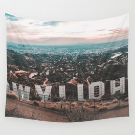 Hollywood Sign Wall Tapestry