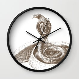 The King Cobra Wall Clock