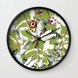 Vintage Garden IV Wall Clock