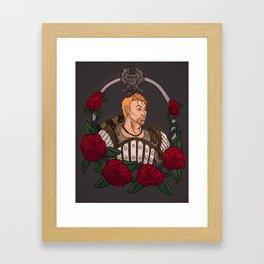 Beautiful Rose Framed Art Print