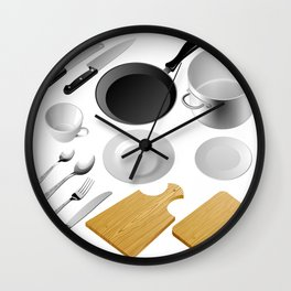 Kitchen tools Wall Clock
