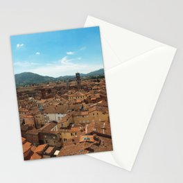 Lucca view Stationery Cards