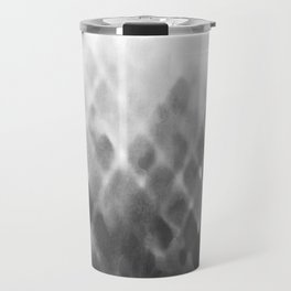 Diamond Fade in Grey Travel Mug