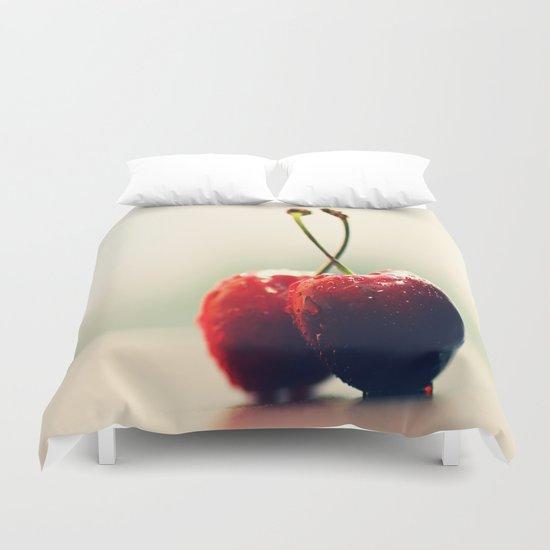 Gourmet cherry Duvet Cover