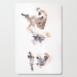 The Dancer - 151124  Abstract Watercolour Cutting Board