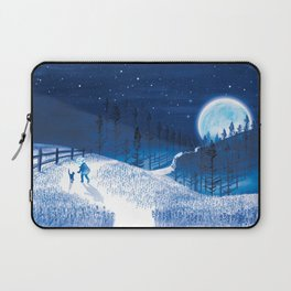 Bluebells Forest Laptop Sleeve