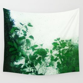 Spring Fresh Rain Wall Tapestry