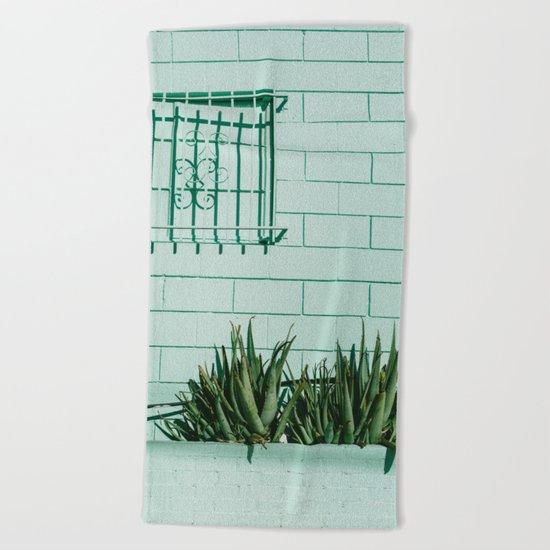 Silver Lake Los Angeles Beach Towel