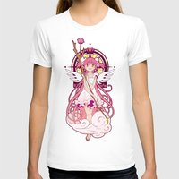madoka T-shirts featuring Madoka Kaname - Nouveau edit. by Yue Graphic Design