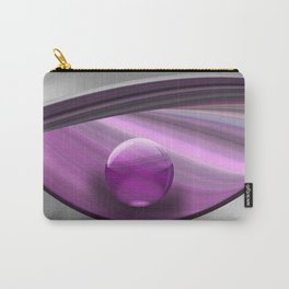 Lilac Ball  Carry-All Pouch