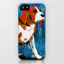 Orange Puppy iPhone Case