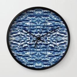 Shiso Shibori Satin Wall Clock