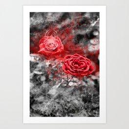 Gothic romance Art Print