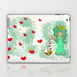 green princess Laptop & iPad Skin