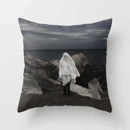 The storm chaser Throw Pillow