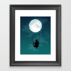 WEE !!! Framed Art Print
