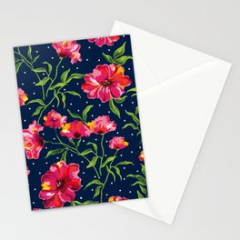 Floral Pattern No,5a Stationery Cards