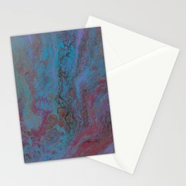 Blue Cosmos Stationery Cards