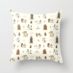 The Holy Grail Pattern Throw Pillow