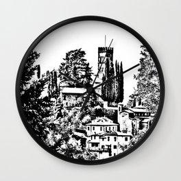 Duomo of Barga Wall Clock