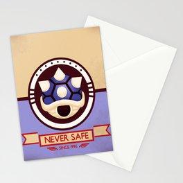 Never Safe - Mario Kart Stationery Cards