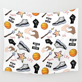 THE HATE U GIVE - PATTERN Wall Tapestry