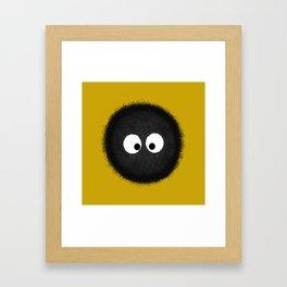 The army of dustbunnies Framed Art Print